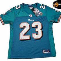 Miami Dolphins Nfl Reebok Womens Jersey..medium...features All-Pro Ron Brown 23 Photo