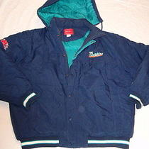 Miami Dolphins Reebok Beautiful Hooded & Quilted Jacket Mint Condition Size Xl Photo