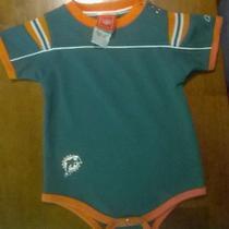 Miami Dolphins Reebok Infant Oneies 12mo Photo