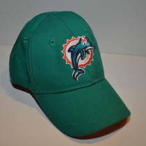 Miami Dolphins Reebok Newborn Baby Kids Hat Cap Size 1 Orange Aqua Photo