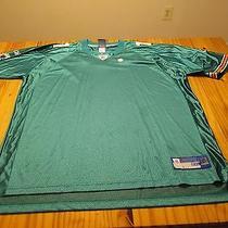 Miami Dolphins Short Sleeve Reebok Football Jersey Size Adult 2xl Xxl Nwot New Photo
