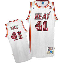 Miami Heat Basketball Jersey 41 Rice Photo