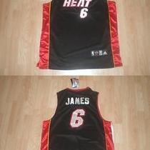 Miami Heat Lebron James () Xl (52) Reebok Photo