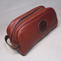 Michael Bianco Usa Golf Addison Reserve Country Club Brown Leather Bag Pouch Photo