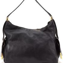Michael Kors Authentic Black Leather Hobo Bag Photo