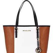 Michael Kors Bag 30t4gjtt1l Cognac Leather Photo