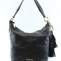 Michael Kors Black Elana Large Convertible Shoulder Hobo Hadbag 378- 002 Photo