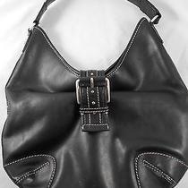 Michael Kors Black Leather Hobo Shoulderbag  Photo