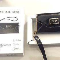 Michael Kors Black Patent Wristlet Wallet Case for Iphone 4 or 4s3gs Photo