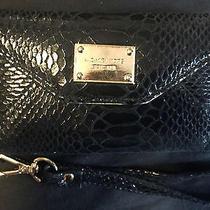 Michael Kors Black Python Wristlet Wallet for Iphone 5 / 5s Photo