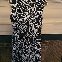 Michael Kors Black/white Dress Size 8  Photo