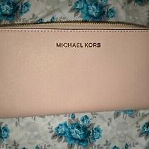 Michael Kors Blush Pink Wallet  Photo