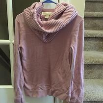 Michael Kors Blush Sweater With Removable Scarf - Size S Photo
