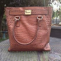 Michael Kors Brown Croc Photo