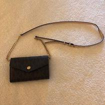 Michael Kors Brown Iphone Crossbody Convertible Wallet Crossbody Purse Photo