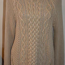 Michael Kors Cable Knit Sweater With Double Zipper Photo