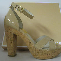 Michael Kors - Camilla Nude Ankle Strap Platform Heel Sz 10 Retails 145 Photo