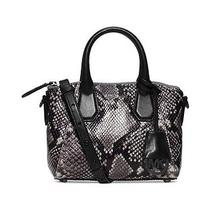 Michael Kors Campbell Xs Embossed Leather Satchel Photo