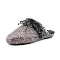 Michael Kors Carter Slipper Womens Size 8 Silver Slipper Shoes Photo