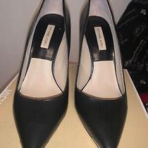 Michael Kors Collection Avra  Black Heels Size Euro 38. Worn Once Photo