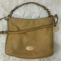 Michael Kors Convertible Large Essex Leather Hobo Handbag Shoulder Bag Purse Photo
