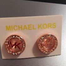 Michael Kors Crystals Stud Earrings Photo