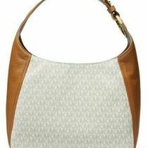 Michael Kors Fulton Large Hobo Vanilla Shoulder Bag Photo