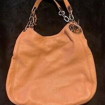 Michael Kors Fulton Tan Leather Hobo Bag and Wallet Photo
