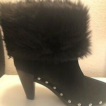 Michael Kors Fur Boots Size 10 Parker Bootie Photo