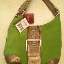 Michael Kors Green Suede Hobo Lime Green Cute Free Shipping  Photo
