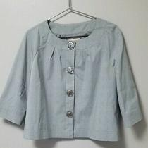 Michael Kors Grey Dress Jacket Sz 12 Photo