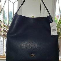 Michael Kors Griffinmichael Kors Griffin Large Leather Hobo. Suede Lining  Photo
