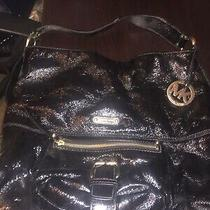 Michael Kors Handbag Excellent Pre Owned Condition-Patent Leather Photo