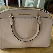 Michael Kors Handbag Used Tote in Blush Color Photo