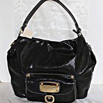 Michael Kors - Hudson Downtown Large Leather Shoulder Bag - Black Photo