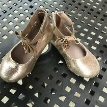 Michael Kors Infant Girls Size 5 Rose Gold Flats Photo