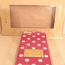 Michael Kors Iphone 5 Case Dot's (Pink) Photo