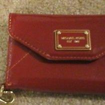 Michael Kors Iphone Wristlet Wallet Red   Photo