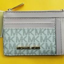 Michael Kors Jet Set Travel Small Double Side Card Case in Powder Blush Nwt Photo