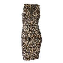 Michael Kors Lace Print Dress Photo