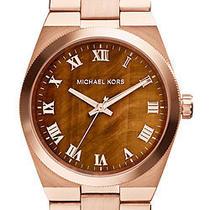 Michael Kors Ladies Watch Mk5895 - Rose Gold Tone Channing Watch Photo
