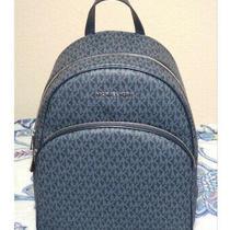 Michael Kors Large Abbey Backpack Large Logo Laptop Bag Shoulder Bag Tote  Photo