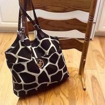 Michael Kors Large Canvas Handbag Photo