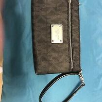 Michael Kors Large Wristlet Clutch Black Photo