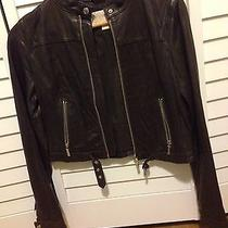 Michael Kors Leather Jacket Photo