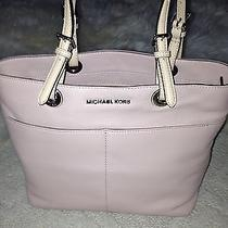 Michael Kors Leather Purse Bag Tote New Pink Blush Photo