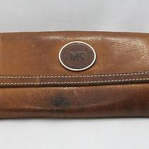 Michael Kors Leather Wallet Brown Leather Photo