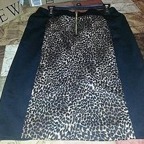 Michael Kors Leopard Skirt Photo