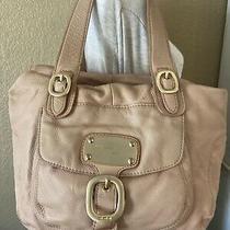 Michael Kors Lt Pink  Leather Handbag Blush Shoulder Bag Purse Photo