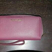 Michael Kors M-1060 Brown Clutch. New and Unused With Bonus Coach Mini Clutch Photo